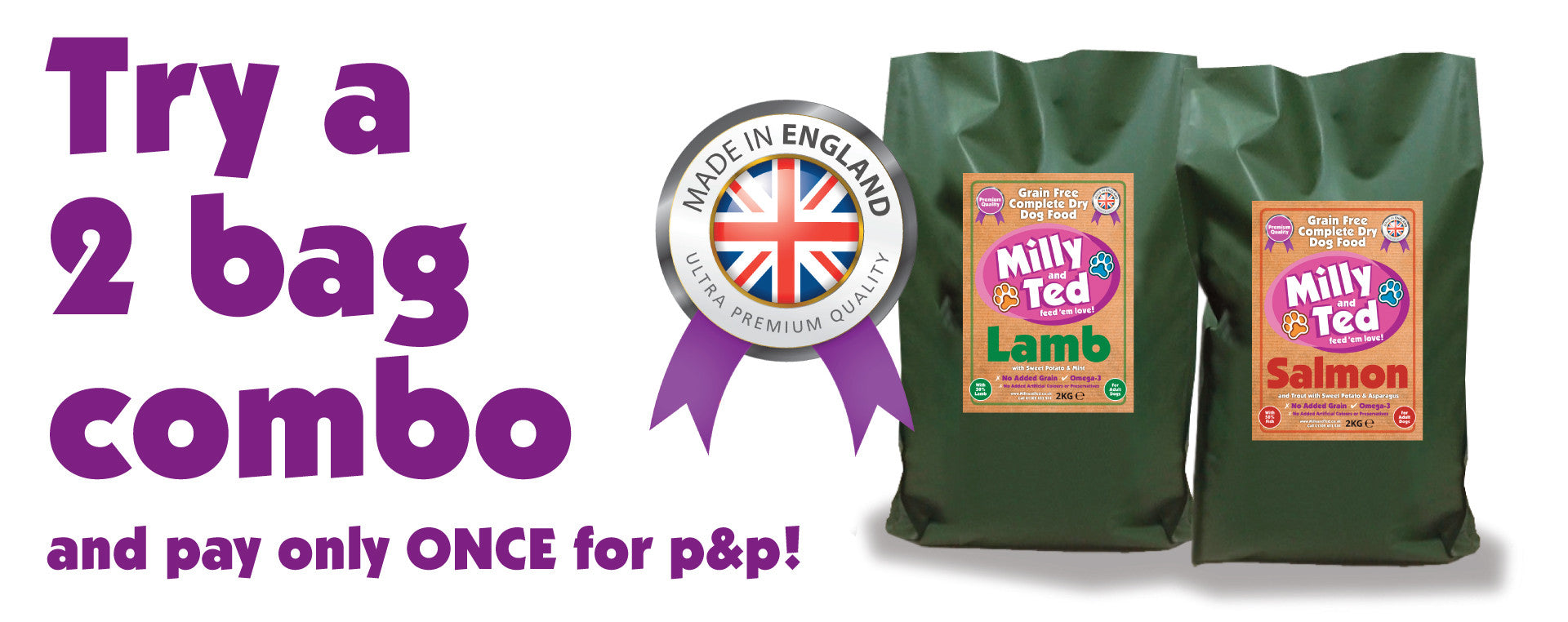 Milly and Ted – 2 bag combo