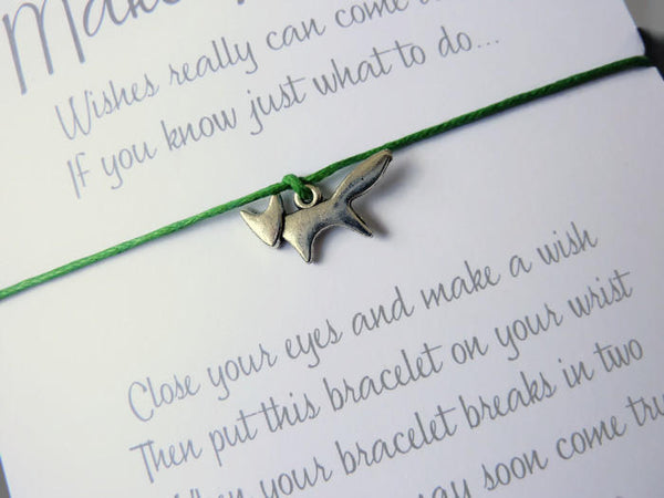 Wish Bracelet - Fox Charm. Fox Bracelet. Choice of colours