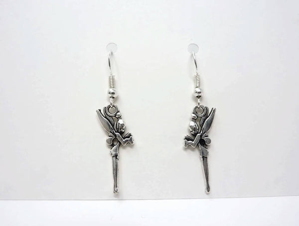 Little Fairy Earrings - Tooth Fairy Earrings. Simple Drop Earrings.