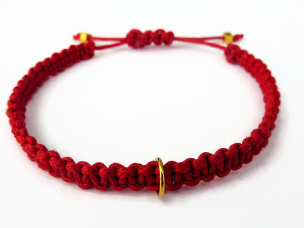 Macrame Bracelet - Ready To Add A Charm. Charm Bracelet. Choice of Colours