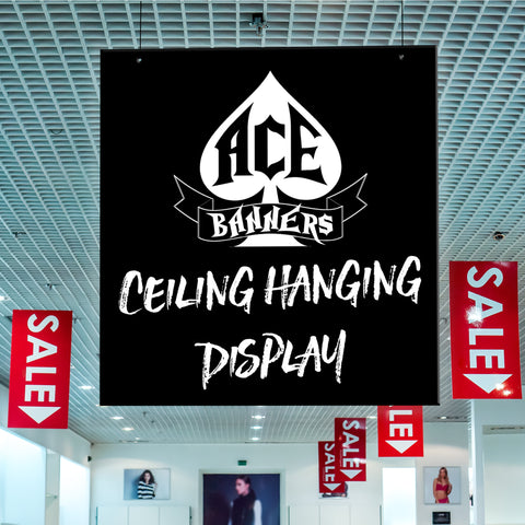 Ceiling Hanging Displays