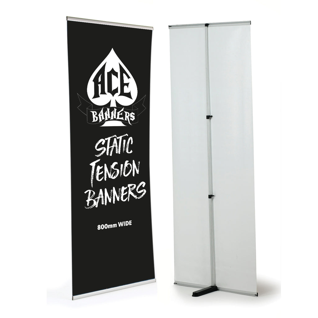 Static Indoor Tension Banner