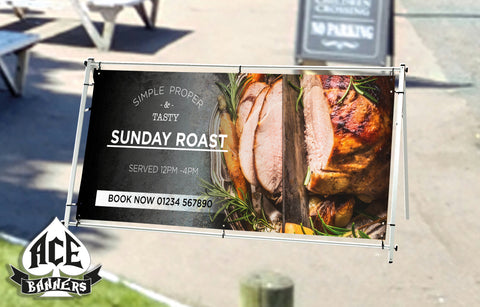 PVC Banner - Pub Sunday Roast 001