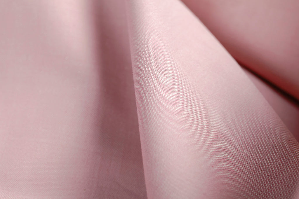 Plain Jacquard Dusty Pink Dark Pillowcase