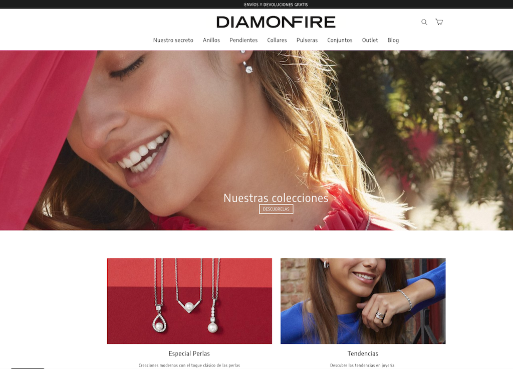 Shopify Diamonfire