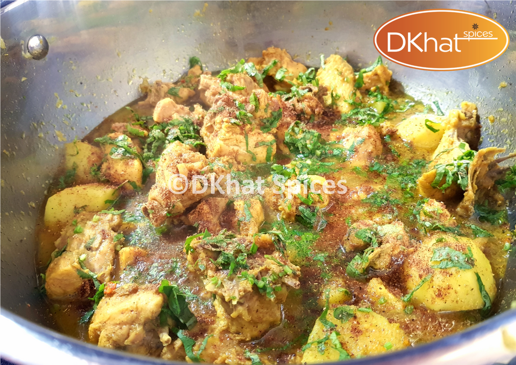 Easy Gujarati Chicken Curry