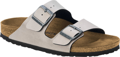 Birkenstock Mens Arizona Birko-Flor® Sandals in Pull up Stone - Alna Vi Shoes
