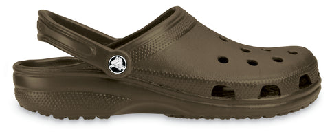 Crocs™ Classic Cayman Clogs in Chocolate 10001 - Alna Vi Shoes