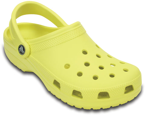 Crocs™ Classic Cayman Clogs in Chartreuse 10001 - Alna Vi Shoes