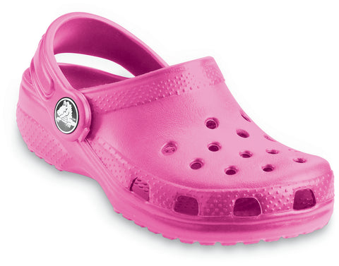 Crocs™ Kids  Classic Cayman Clogs in Fuschia 10006 - Alna Vi Shoes