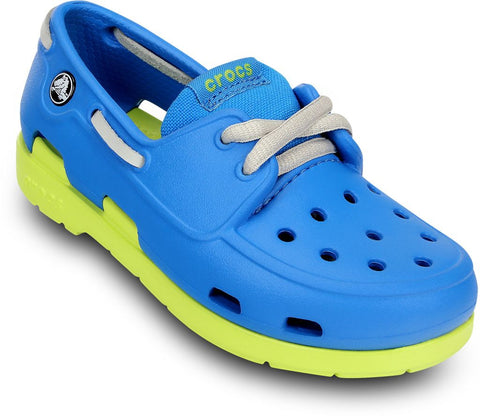 Crocs™ Boys BeachLineBoat 11404 CrocLite Boat - Alna Vi Shoes