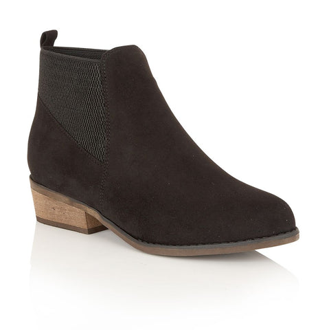 Dolcis Women Janet OLB437 Imitation Suede Ankle Boots