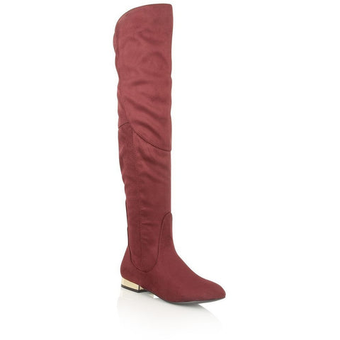 Dolcis Katie OLB682 in Burgundy - Alna Vi Shoes