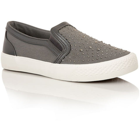 Dolcis Montana OLL678 in Grey - Alna Vi Shoes