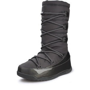 FitFlop™ Women Blizz 160 001 Black LEATHER Snow Winter Boots - Alna Vi Shoes