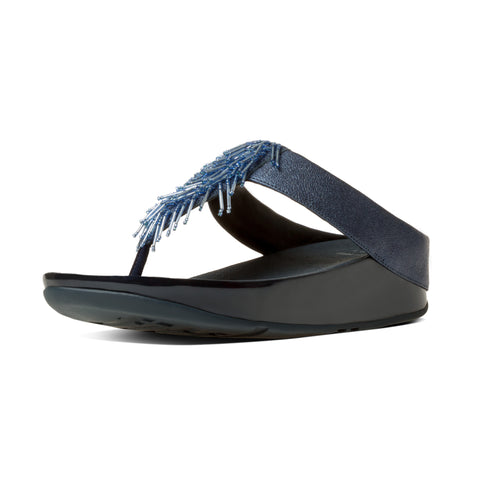 FitFlop™ Women ChaCha 336 LEATHER Flip Flops