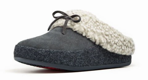 FitFlop™ Women Cuddler 243 suede slippers - Alna Vi Shoes