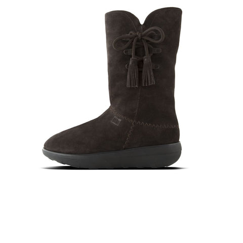 FitFlop™ Women Mukluk HighBoot Tassle I89 Suede Boots - Alna Vi Shoes