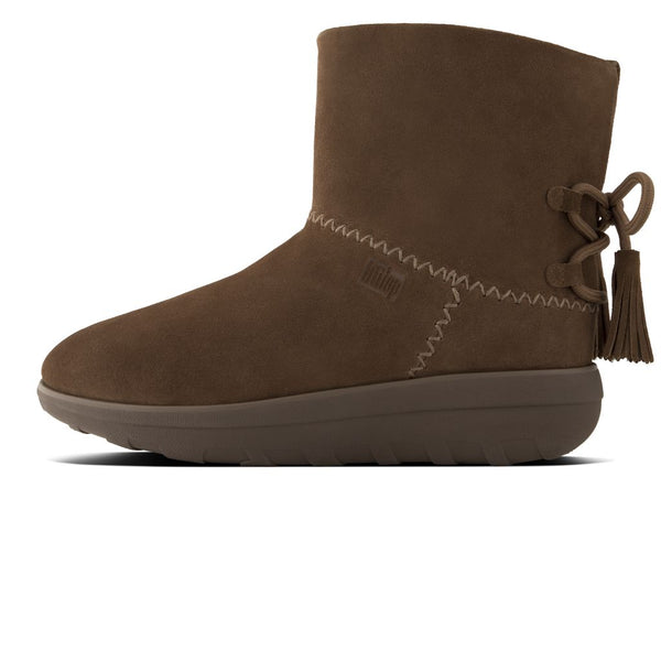 087451399a2bb FitFlop™ Women Mukluk ShortyII Tassle I91 Suede Boots – Alna Vi Shoes