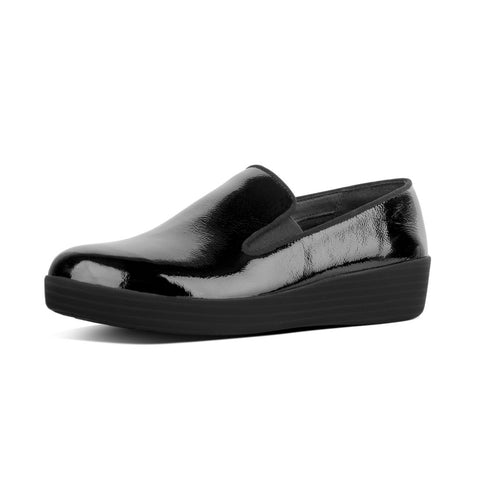 FitFlop™ Women Superskate Patent LEATHER J10 Shoes - Alna Vi Shoes