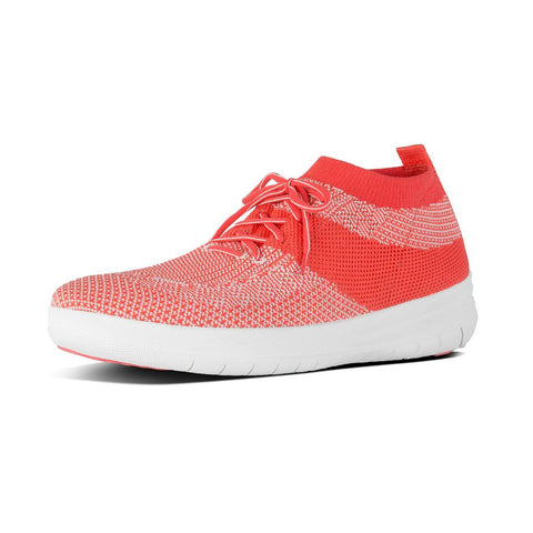 FitFlop™ Women Uberknit SliponHighTop E91Textile Sneakers - Alna Vi Shoes