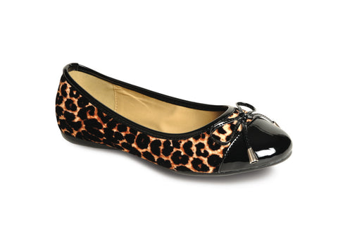 Lunar Women FLH276 Black Flats - Alna Vi Shoes