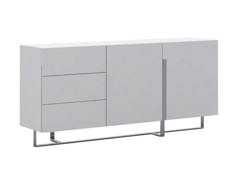 Casabianca COLLINS High Gloss White Lacquer Buffet - CB-1302B-Buffets-HipModernHome