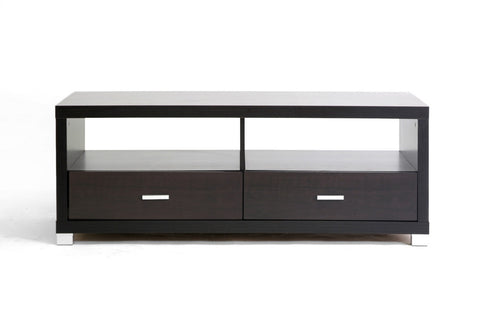 Baxton Studio Derwent Coffee Table with Drawers-Tables-HipModernHome