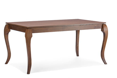 "Baxton Studio Epperton Brown ""Cocoa"" Wood Modern Dining Table"