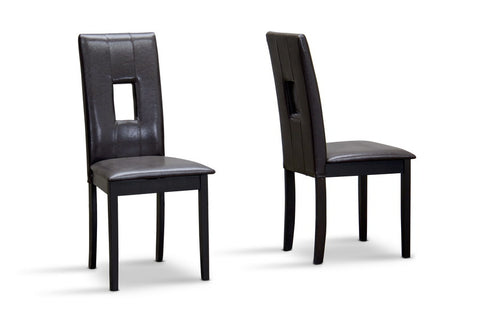 Baxton Studio Bellar Dining Chair - Set of 2