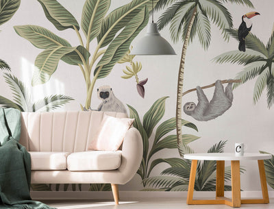 A Fine Wallpaper Trend You Can't Miss: Wallpaper Mural Art