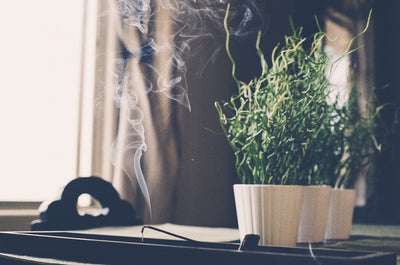 Incense : An easy way to improve your indoor air