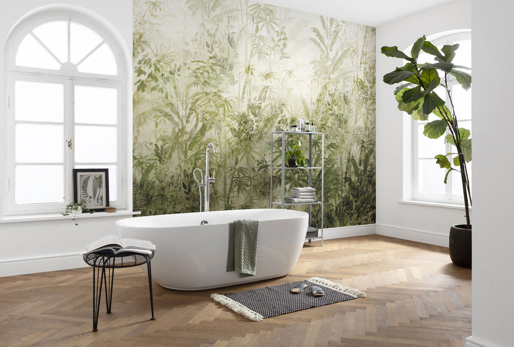 Jungle Wallpaper at Forest Homes