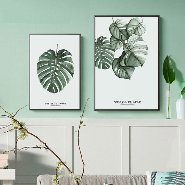 Large Format Tropical Plant Prints