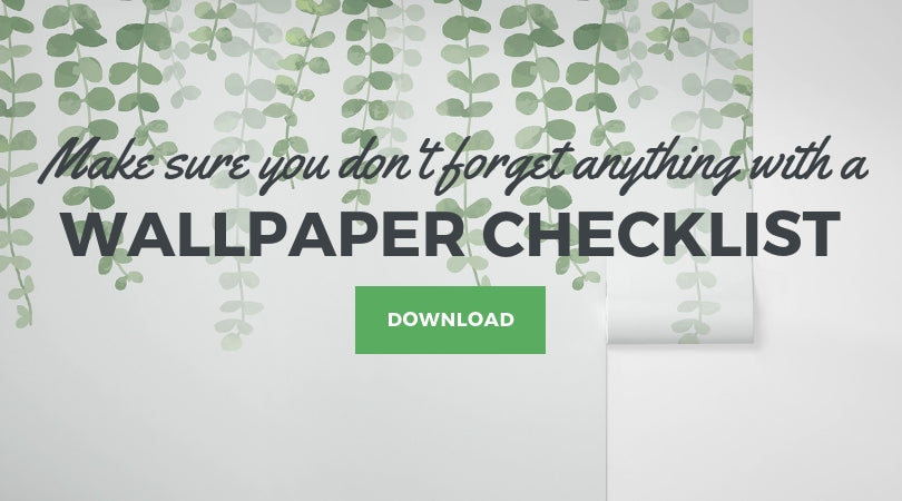 Download Wallpaper Installation Checklist