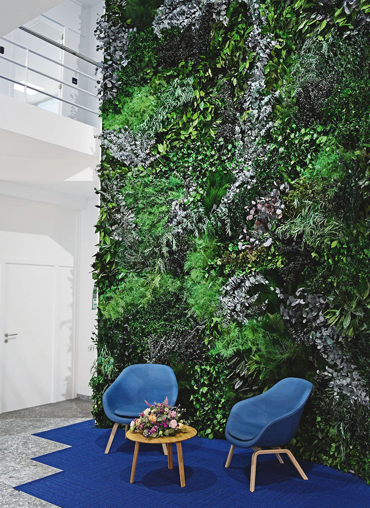 Plant Walls at Forest Homes