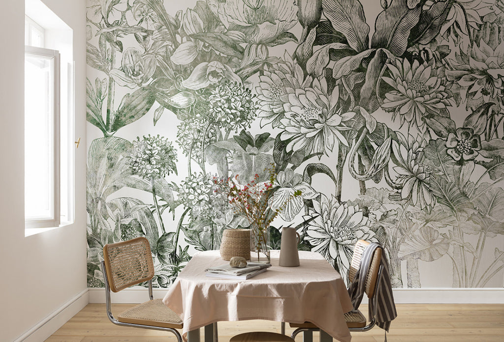 Formal Spaces to hang your wallpaper - Forest Homes
