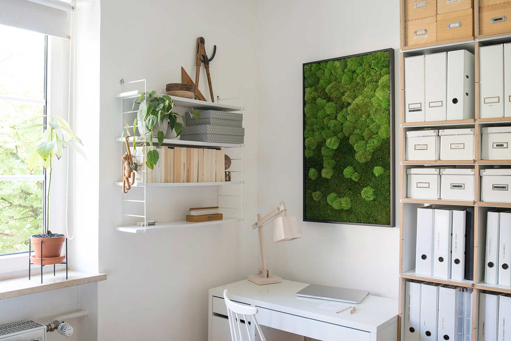 Office space with Moss Frame