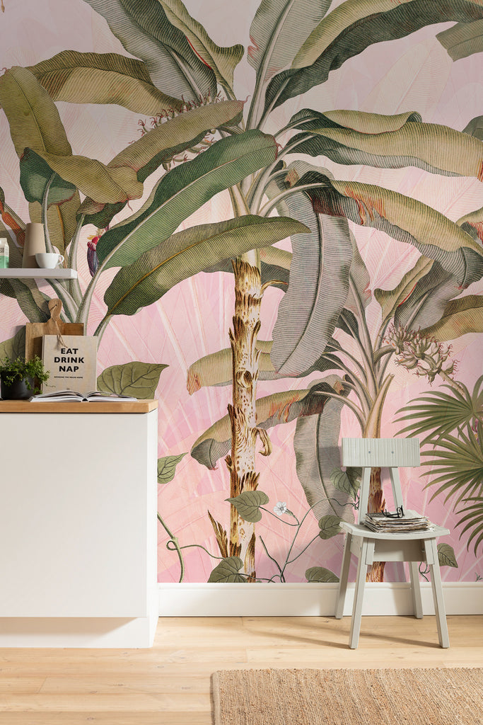 Nature Mural Wallpaper at Forest Homes