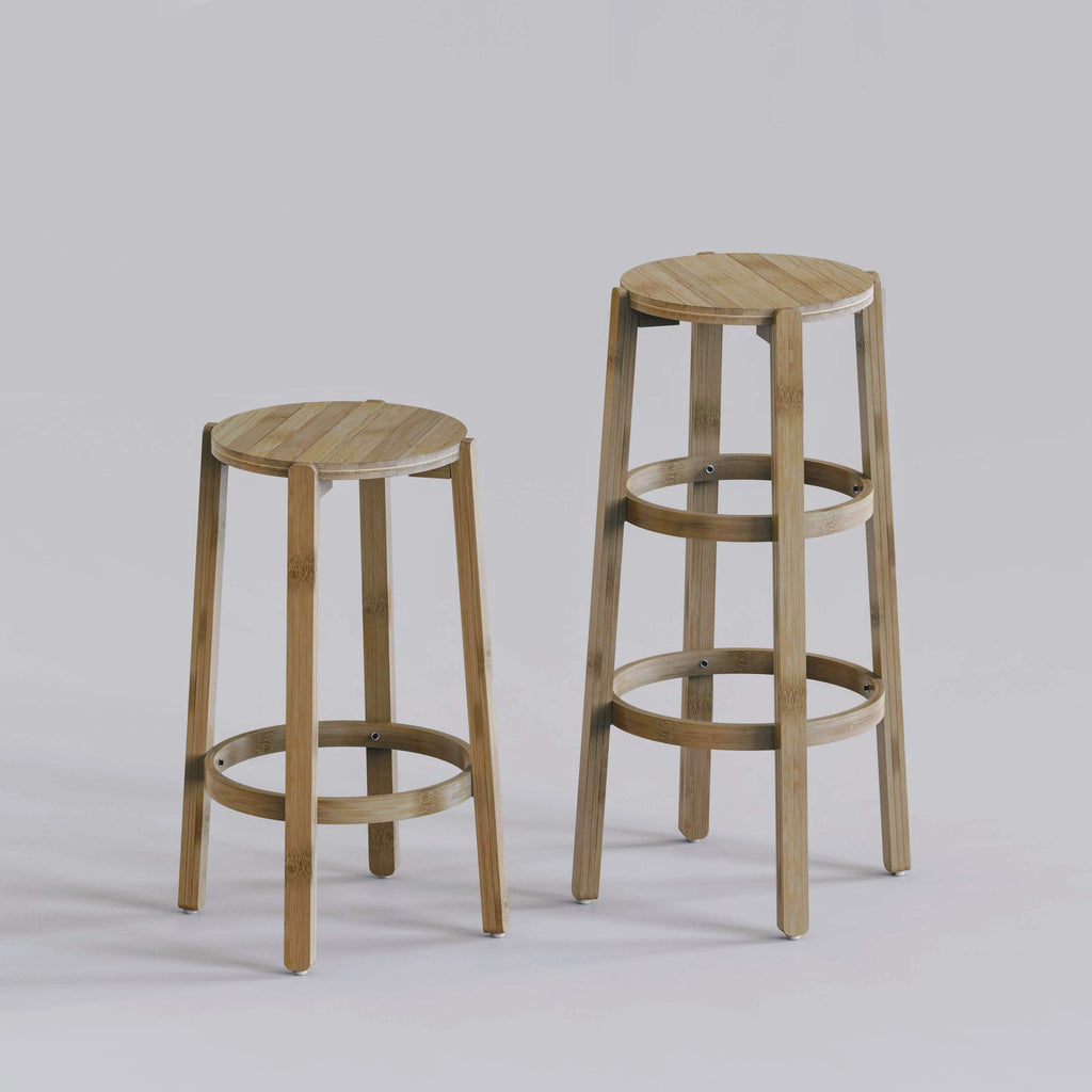 Bamboo Chairs & Stools