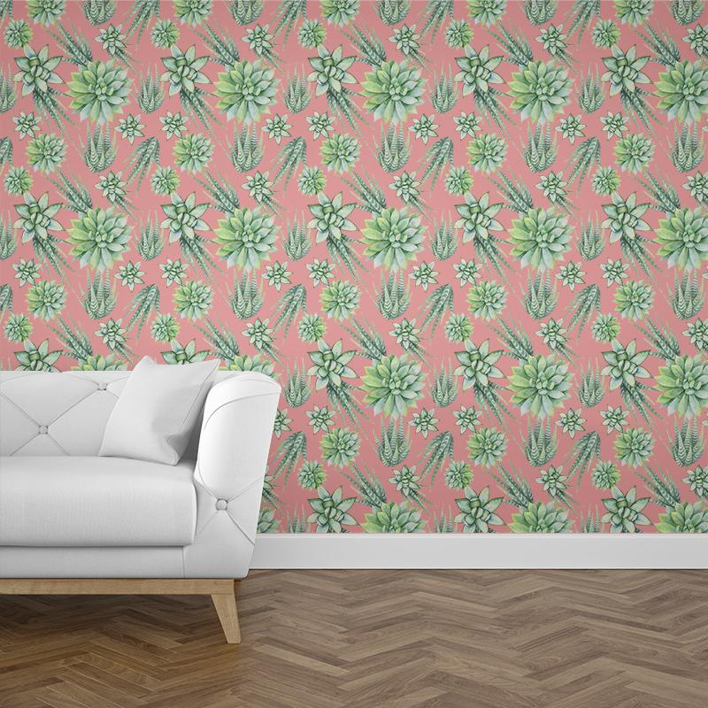 Rose Cactus Wallpaper - Forest Homes