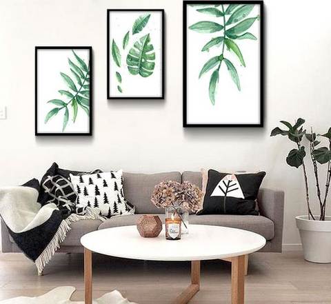 Nature inspired walls styles - Watercolour