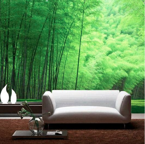 Nature inspired walls styles - Real vivid scenes