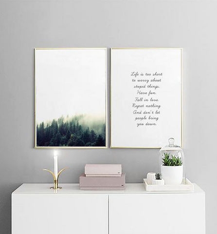 Nature inspired walls styles - Inspirational