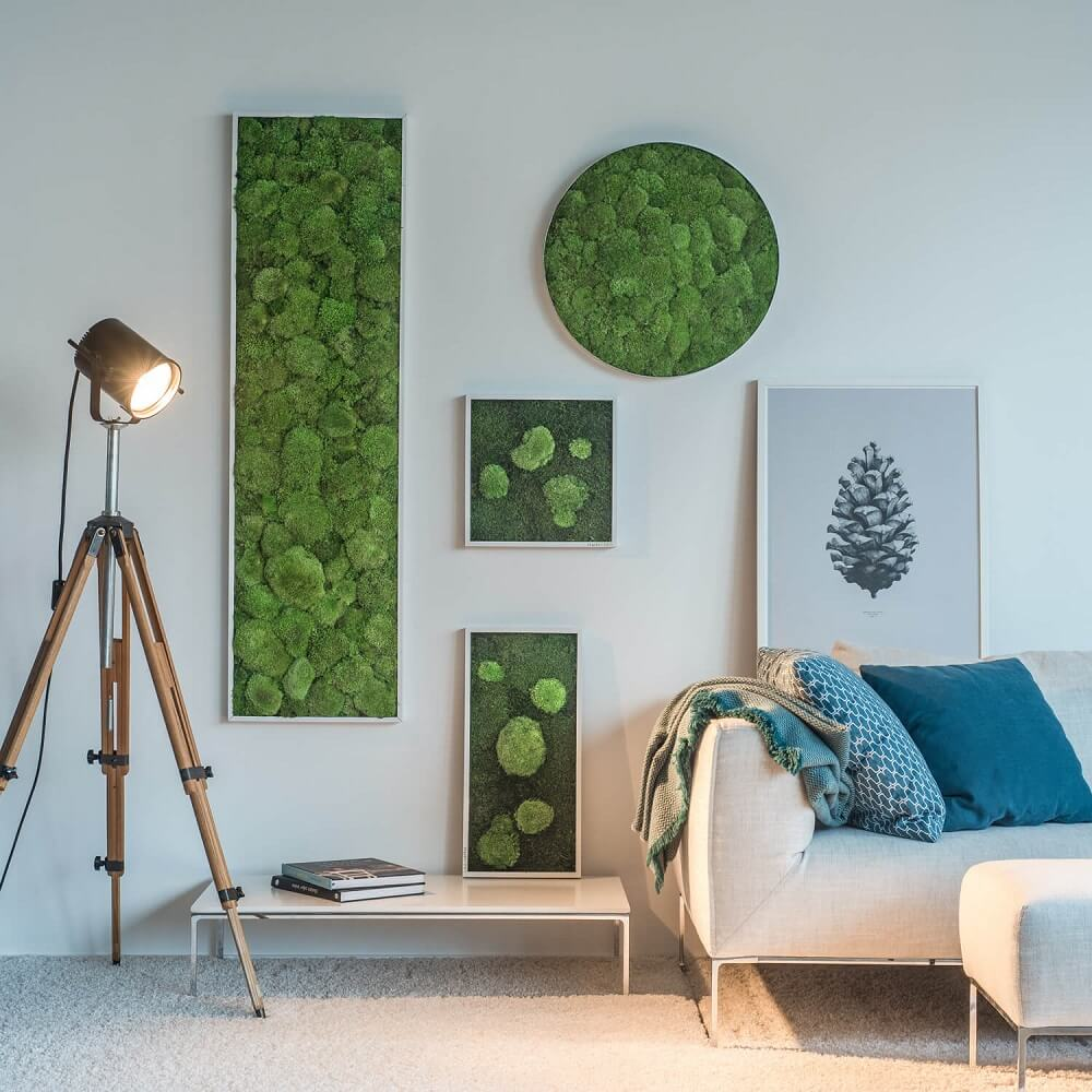 Moss Wall Art Ideas
