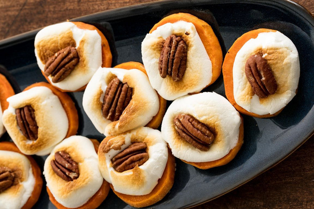 Sweet potato bites