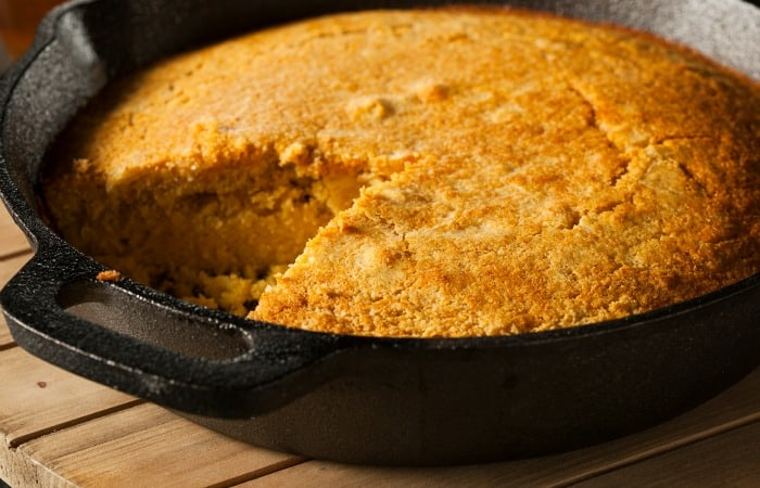 Vegan cornbread - Forest Homes Nutrition