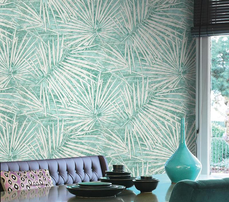 Natural Living Pattern Wallpaper
