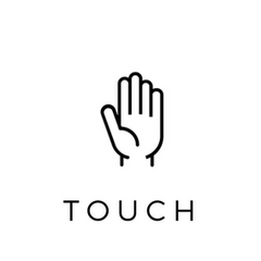 hand symbol - implying touchable home decor