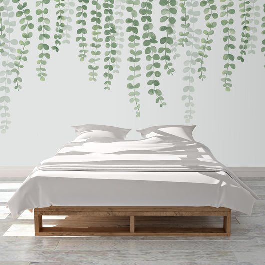 Nature decor, Wall Decor, String of Pearls Mural Wallpaper (m²), Beautiful Natural Decor, Nature inspired Design, nature wallpaper, floral wallpaper, forest wallpaper, mural wallpaper, nature canvas, canvas prints, nature tapestries, glass terrariums, home decor, Forest Homes